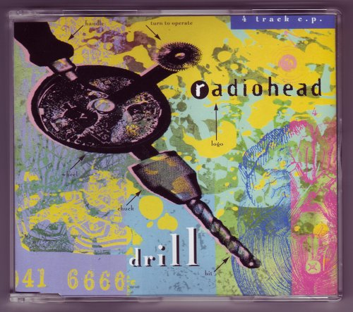 Rare CD: RADIOHEAD Drill EP 1992 by Parlophone Records