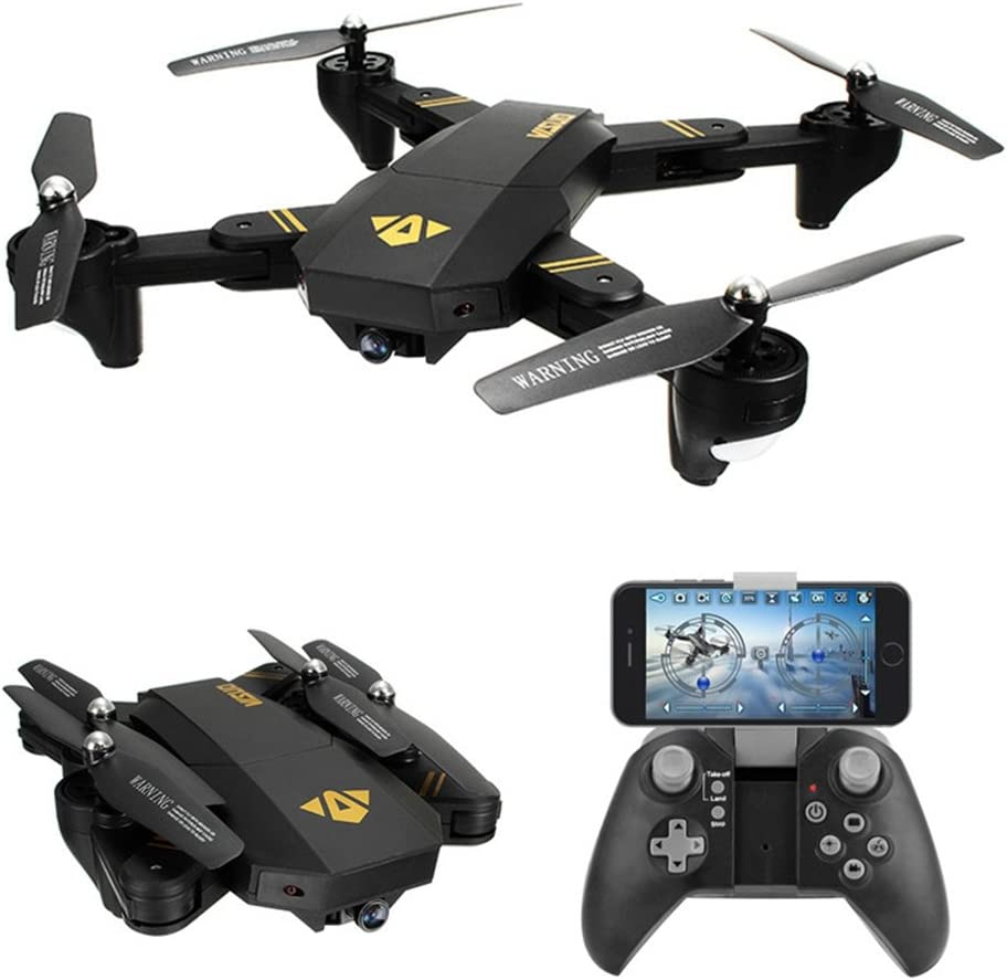 VISUO BEST Drone quadcopter Foldable 2.4GHz 6-Gyro Remote Control Drone 720P HD 2MP 120° Wide Angle Camera (Altitude Hold Function)