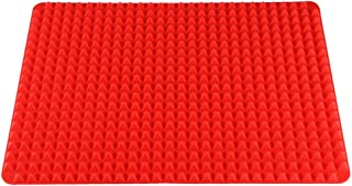 LUZAISHENG Multi-Function Silicone Barbecue Pad/Food Pad(Red) Kitchen Tools (Color : Red)