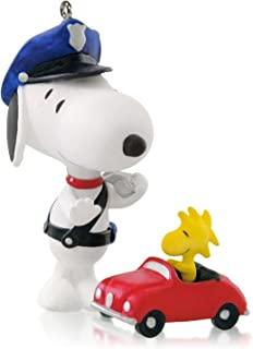 Hallmark Keepsake Ornament Officer Snoopy 17th in The Spotlight on Snoopy Series 2014