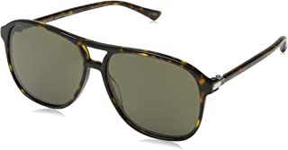 Gucci 0016S Trendy Pilot Shape Sunglasses Size 58mm