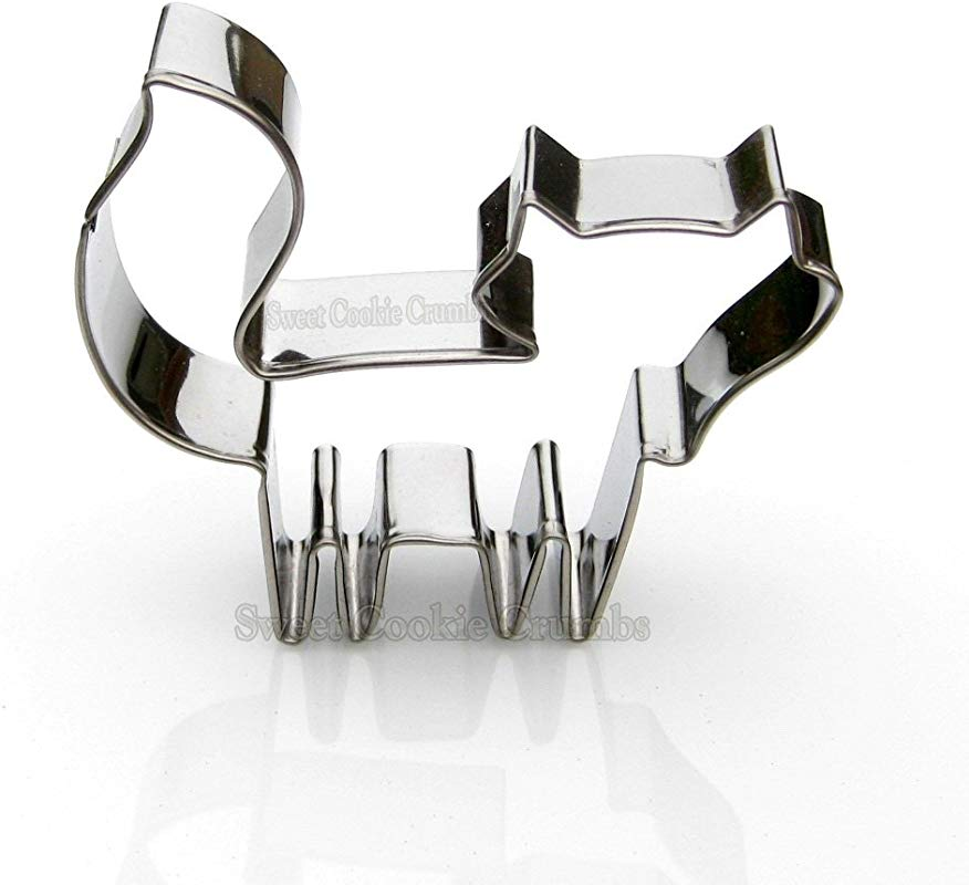 Fox Cookie Cutter Stainless Steel