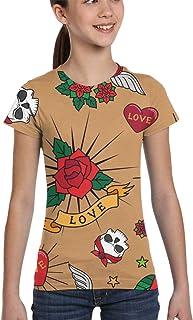 Girl T-Shirt Tee Youth Fashion Tops Turtles