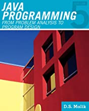 Java™ Programming: From Problem Analysis to Program Design (Introduction to Programming)