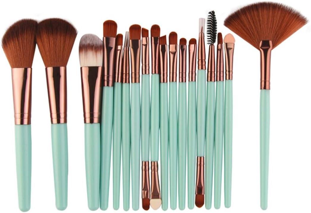 BCDshop Makeup Brush Set Beauty products Professional Long Beach Mall New S 18 pcs