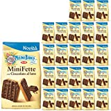 Molino blanco Miniporciones con chocolate al leche con harina integral, 24 paquetes de 110 gramos