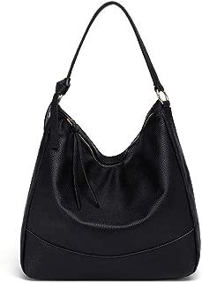 Women Top Handle Tote Hobo Bag Soft Vegan PU Leather Larger Capacity Shoulder Handbag Satchel Purse HGA0005