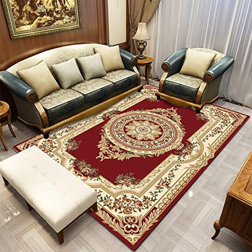 GBFR Persian Style Rug Living Room Rug Nordic Bedroom Sofa Table Morocco Rug Room Studio Carpet Floor Home Decor Vintage Rug Cream Living Room Accessories 80X160 Style-2