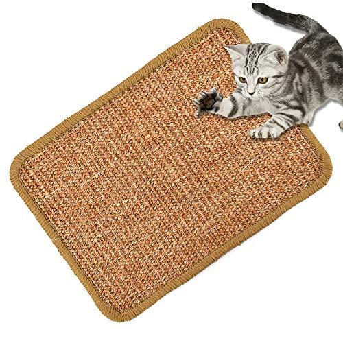 GSDJU Schutz,Möbel,Strapazierfähig,rutschfest,Langlebiges,Scratching Board Mat Pad Cat Sisal Loop Teppich Scratcher Indoor Wohnmöbel Tisch Stuhl Sofa Beine Protector Pet Toy