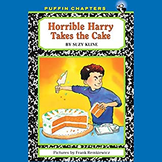 Horrible Harry Takes the Cake audiobook cover art