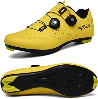 STEELEMENT.Cycling Shoes Spin Shoestring with Compatible Cleat Peloton Shoe with SPD and Delta Lock Pedal Bike Shoes