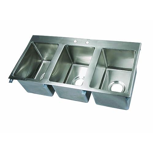 Three Compartment Sink Amazon Com