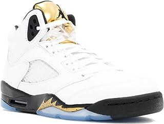 63e7bcb80da484 Nike Air Jordan 5 Retro BG LTD Olympic Gold Coin 2016 Basketball Sneaker