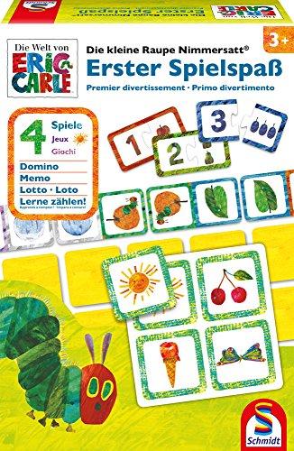 Schmidt Spiele 40576 The Very Hungry Caterpillar Die kleine Raupe Nimmersatt, Erster Spielspaß, bunt