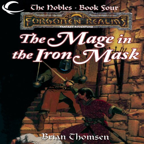 The Mage in the Iron Mask audiobook cover art