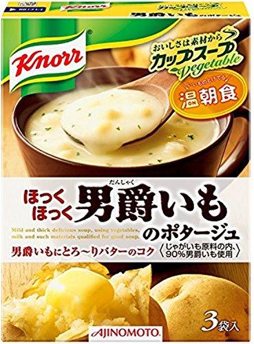 クノール カップスープ 男爵いものポタージュ 52.8g