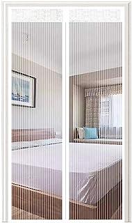 Adsorption magn/étique Pliable Blanc Acc/ès Facile MODKOY Moustiquaire Magn/étique Convient /à la Taille Rideau Moustiquaire /à Aimant/ée 160x200cm