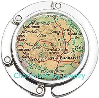 Nicaragua map Bag Hook,Nicaragua map Purse Hook Nicaragua Purse Hook,Nicaragua Bag Hook,map jewelry map.D0111