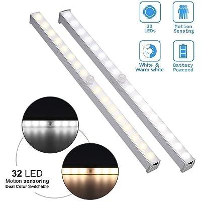 LED Under Cabinet Lighting Elfeland 32 LED Moti...