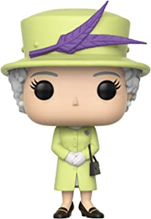 Funko Pop! Royals: Royals - Queen Elizabeth II Action Figures, Multicolor, Standard