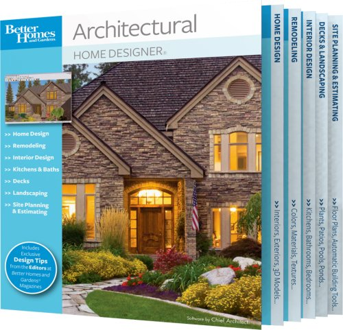 Amazon Com Better Homes And Gardens Architectural Home Designer Download Old Version Software