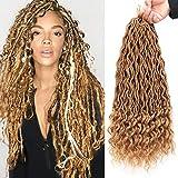 GX Beauty 6Packs Goddess Locs Crochet Hair 20 Inch...