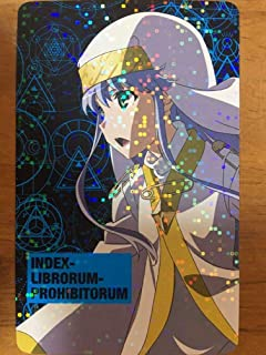 とある魔術の禁書目録3 キャラカード インデックス 井口裕香 アトレ秋葉原コラボ anime グッズ toaru
