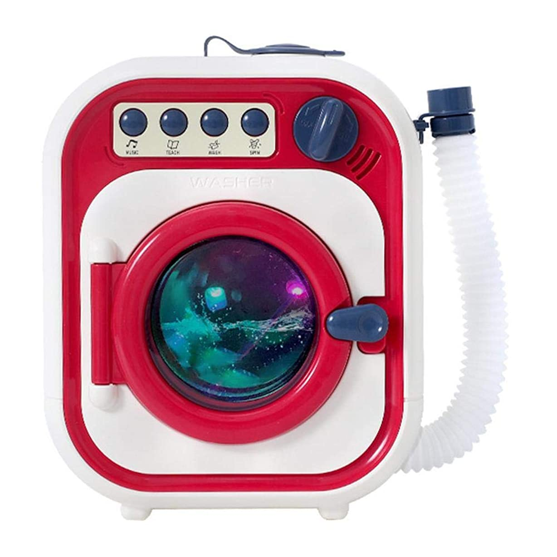 相互結婚絶妙ウォッシュおもちゃ電気洗濯機子供の洗濯機のおもちゃプレイセットふりプレイキッズ幼児のおもちゃ女の子ギフト