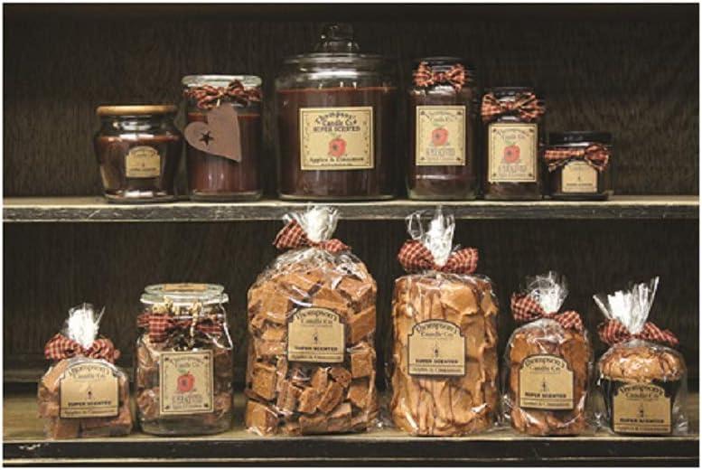 Thompson's Candle Co... Apples & Cinnamon Pillar Candles