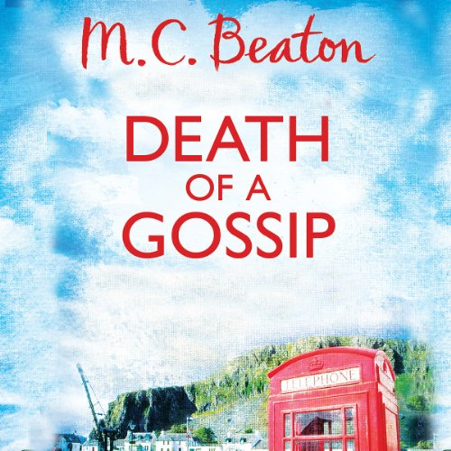 Death of a Gossip audiobook cover art