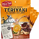 Field Trip Beef Jerky | Gluten Free Jerky, Low Carb, Healthy High Protein Snacks with No Nitrates, Made with All Natural Ingredients | Teriyaki | 2.2oz Bags, 4 Pack