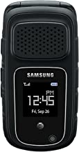 Samsung Rugby 4 B780A Unlocked GSM Rugged Waterproof Flip Phone - Black (Renewed)