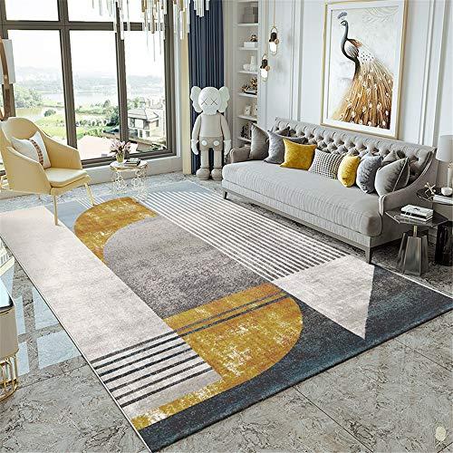 FHLH Acogedora Alfombra de Sala Alfombra de Estar Alfombra Simple Sala de Estar Moderna Sofá Mesa de Centro Cama de Dormitorio Tatami Adecuado for el Dormitorio del Pasillo Nueva Atmósfera
