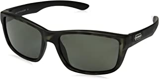 Suncloud Mayor Polarized Sunglasses, Matte Silver Tortoise, Gray