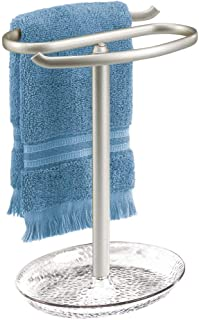 Best brushed nickel towel stands Reviews