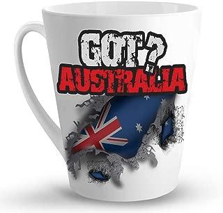 Makoroni - GOT AUSTRALIA - 12 Oz. Unique LATTE MUG, Coffee Cup