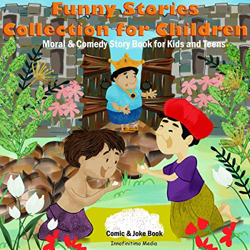 Couverture de Funny Stories Collection for Children