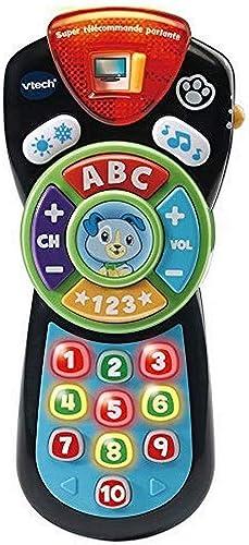 VTECH- Super TELECOMMANDE PARLANTE Baby Jouet Premier Age, 80-606275, Multicolore - Version FR