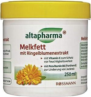 Melkfett mit Ringelblumenextrakt - mit Vitamin E zum Schutz vor Feuchtigkeitsverlust - 250 ml