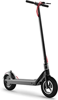 RND M1 Electric Scooter Creative Foot Control Foldable E-Scooter with 10.5'' Vacuum Motor Tire, E-ABS & Disc Dual Brake, 350W Detachable Battery Max Speed 18MPH, Max Weight 220lbs