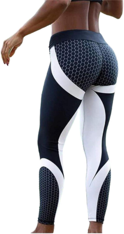 Luandge Women's Casual Pants Fashion 3D Printed Slim Sexy High Waistslimming Hip High
