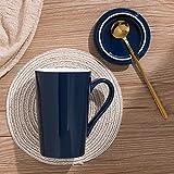 Xiaobing Tazza di moda Tazza da uomo e da donna Personalità Tazza in ceramica Tazza da caffè di grande capacità Tazza da caffè -C408-401-500ml