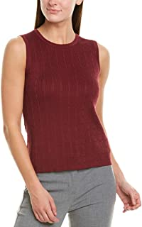 Brooks Brothers Womens Tank, S, Red