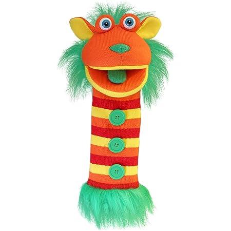 The Puppet Company Chaussettes Boutons Tricoté Marionnette à Main PC007013