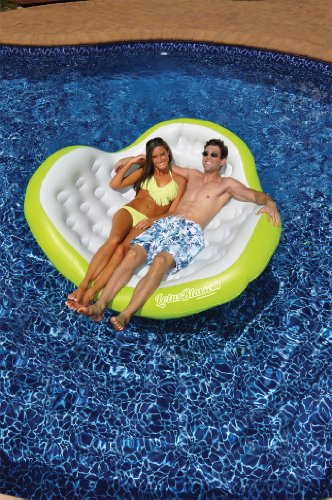Swimline Lotus Blossom Double Comfort Lounge by