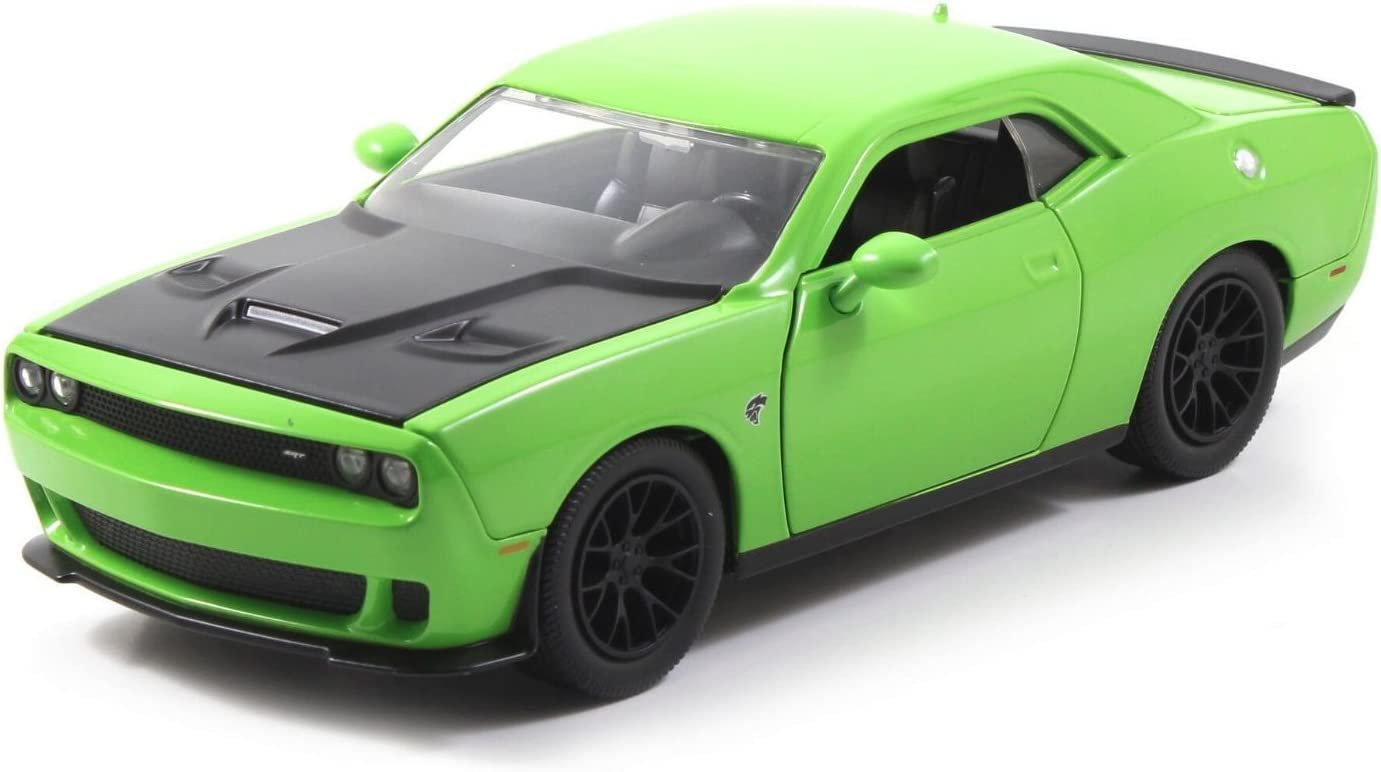 2015 Max 50% OFF Dodge Challenger online shop SRT Hellcat Green by Jada 1 97854 24