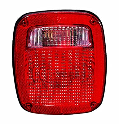 Depo Jeep Wrangler Replacement Taillight Assembly