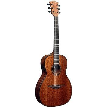 Guitarra electro-acustica lag parlor: Amazon.es: Instrumentos ...