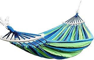 Altalena per Giardino pensile per Esterni Letto Nappe brasiliane con Altalena in Lino di Cotone allUncinetto con Frange XXJJZON Amaca di Tela da Campeggio allaperto