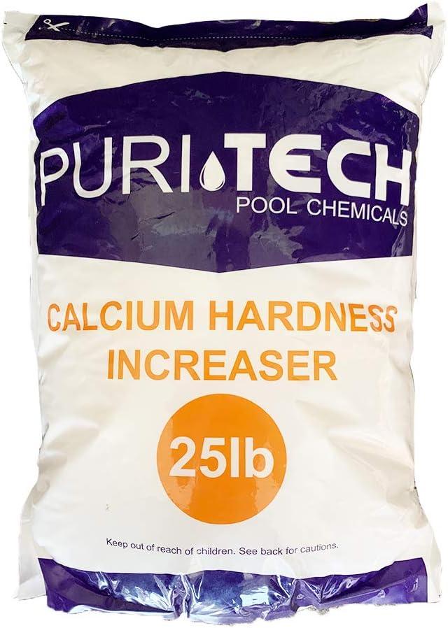 Award-winning Credence store Puri Tech Pool Chemicals 25 lb Hardness Increaser Plus f Calcium